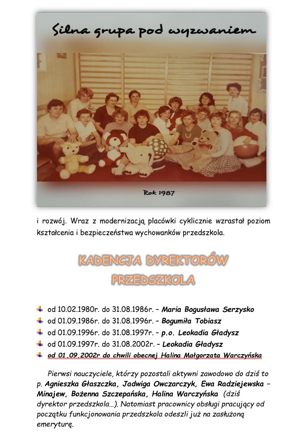 Historia przedszkola str 2